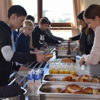 Ontbijt voor leerlingen eerste jaar