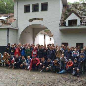 Derde jaar op driedaagse in Sint-Joris-Weert, Oud-Heverlee