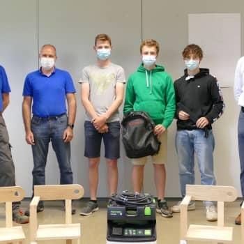 Meerdere leerlingen van 4HB en 4HT vallen in de prijzen tijdens de Vlaamse houtproef!