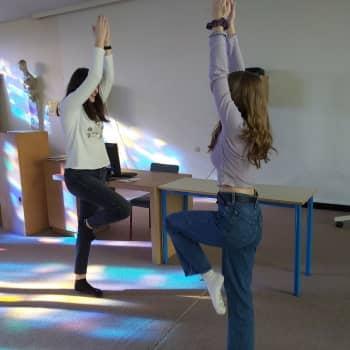 Dans en percussie in de klas