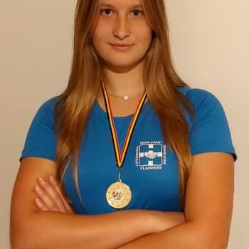 Lotte Blommé (5EM) wint Belgisch kampioenschap Surfski